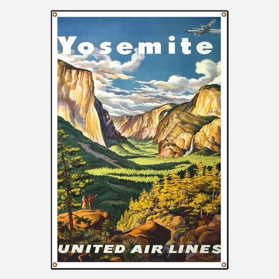 Cute Vintage travel Banner