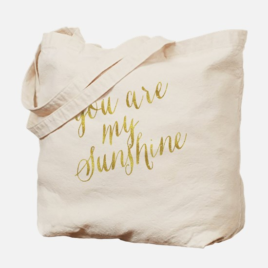 Cool Faux gold Tote Bag