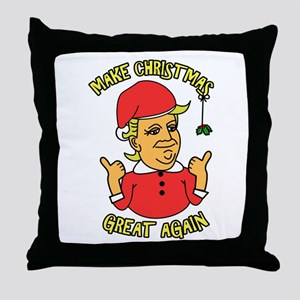 Make Christmas Great Again Throw Pillow