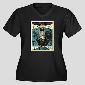 Vintage poster - Illuminate the Plus Size T-Shirt
