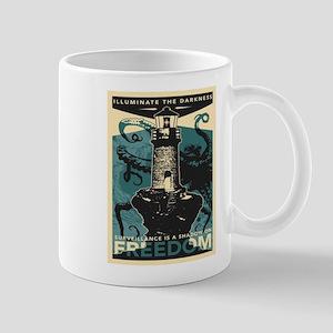 Vintage poster - Illuminate the darkness Mugs