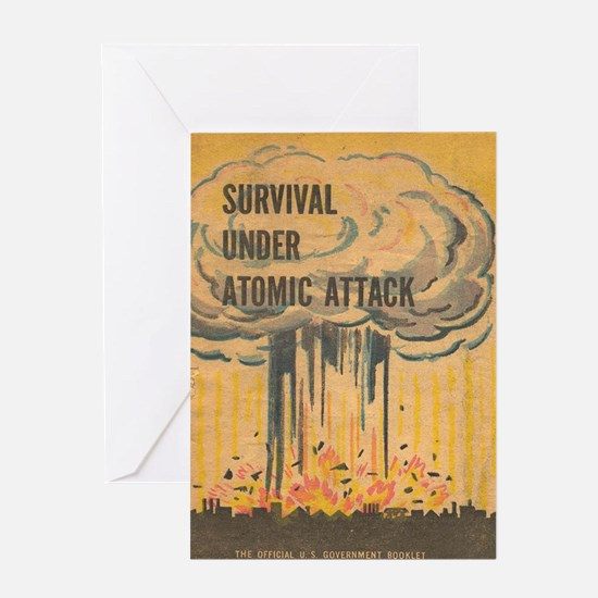 Unique Atomic Greeting Card