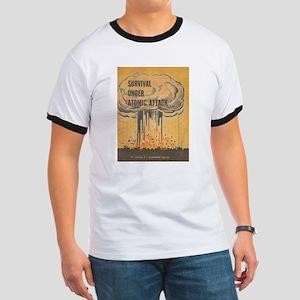 Vintage poster - Survival under atomic att T-Shirt