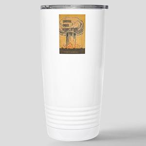 Vintage poster - Surviv Stainless Steel Travel Mug
