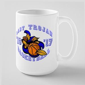 Lady Trojan Basketball Mugs