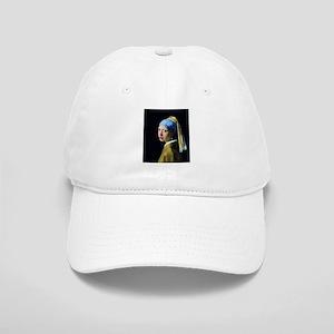 Jan Vermeer Girl With A Pearl Earring Cap