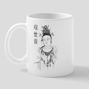 Vintage Guan Yin Mug