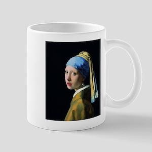 Jan Vermeer Girl With A Pearl Earring Mugs