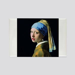 Jan Vermeer Girl With A Pearl Earring Magnets