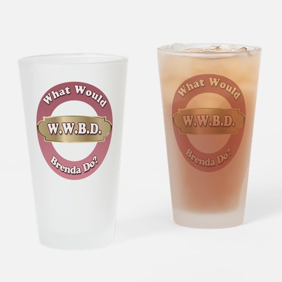 Funny Wwbd Drinking Glass
