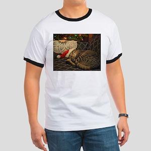 Santa Daisy the cat T-Shirt