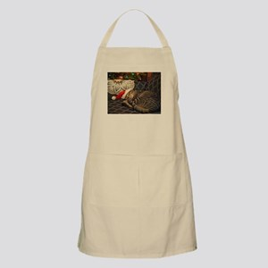 Santa Daisy the cat Apron