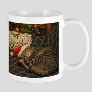 Santa Daisy the cat Mugs