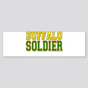 Buffalo Soldier Sticker (Bumper)