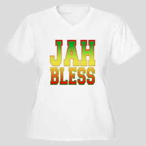 Jah Bless Women's Plus Size V-Neck T-Shirt