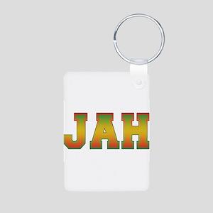 Jah Aluminum Photo Keychain