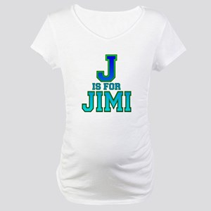 J is for Jimi Maternity T-Shirt