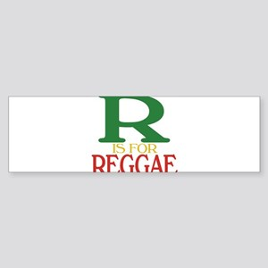 R is for Reggae Sticker (Bumper)