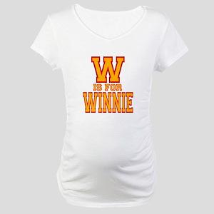 W is for Winnie Maternity T-Shirt