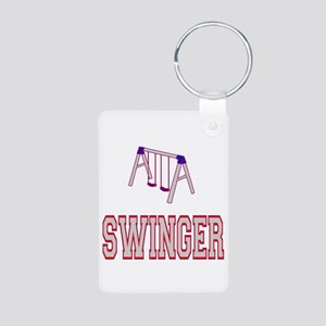 Swinger.png Aluminum Photo Keychain