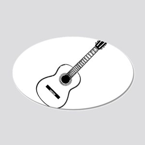 acoustic 20x12 Oval Wall Decal