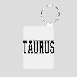 TAURUS Aluminum Photo Keychain