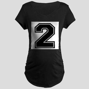 2 Maternity Dark T-Shirt