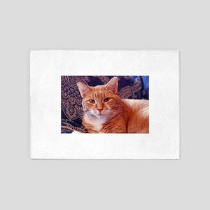 Juba the kitty cat 5'x7'Area Rug
