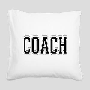 Coach Square Canvas Pillow