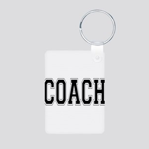 Coach Aluminum Photo Keychain