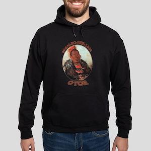 Wah-ro-nee-sah, Otoe Chief Hoodie (dark)