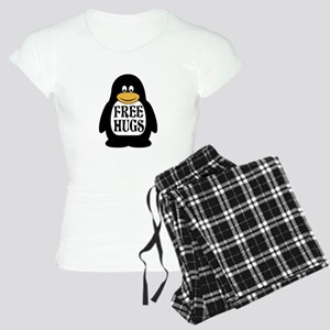 Free Hugs Penguin Pajamas