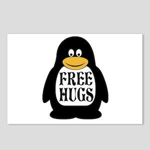 Free Hugs Penguin Postcards (Package of 8)