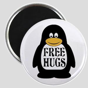 Free Hugs Penguin Magnets
