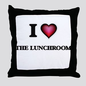I love The Lunchroom Throw Pillow
