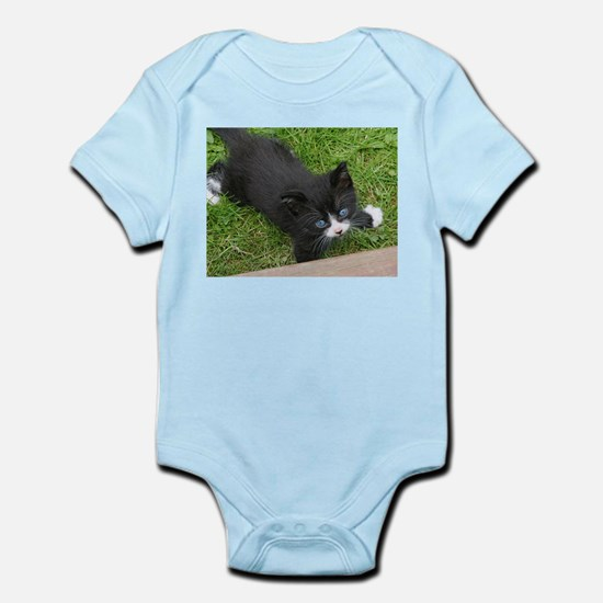 Schubert the playing cat Body Suit