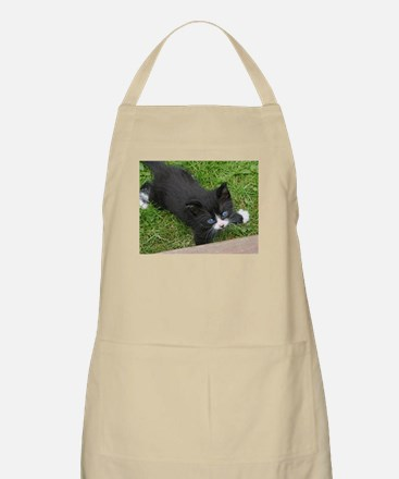 Schubert the playing cat Apron