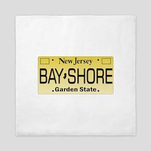 Bay Shore NJ Tag Gifts Queen Duvet