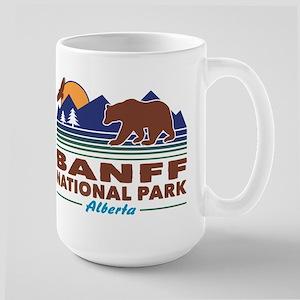 Banff National Park Alberta Large Mug
