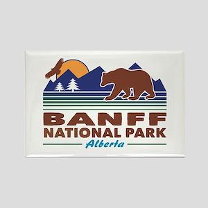Banff National Park Alberta Rectangle Magnet