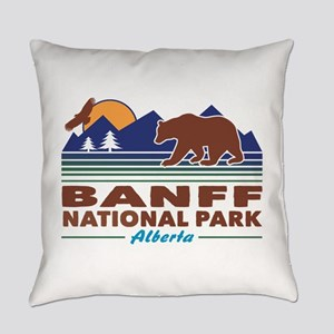 Banff National Park Alberta Everyday Pillow
