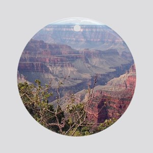 Grand Canyon North Rim, Arizona, US Round Ornament