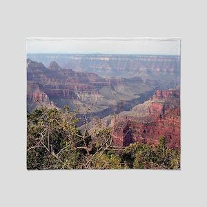 Grand Canyon North Rim, Arizona, USA Throw Blanket
