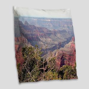 Grand Canyon North Rim, Arizon Burlap Throw Pillow