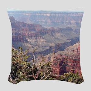 Grand Canyon North Rim, Arizon Woven Throw Pillow