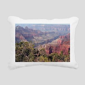 Grand Canyon North Rim, Rectangular Canvas Pillow