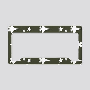 F-35 Lightning II & Stars Pat License Plate Holder