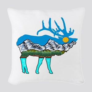 BUGLE Woven Throw Pillow