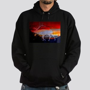 Elk sunset Sweatshirt