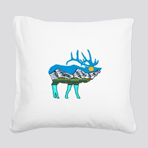 BUGLE Square Canvas Pillow
